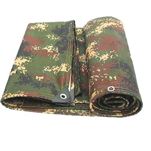 WSGZH Outdoor Plane Wasserdichte Poncho Camouflage Oxford Tuch Sonnencreme Regendicht Staubdicht Wärmedämmung Schatten Tuch (größe : 1.5x2m)