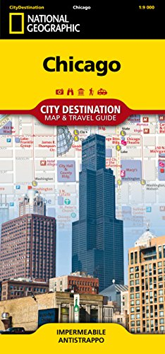 Chicago 1:9.000 (City Destination. Map & Guide)