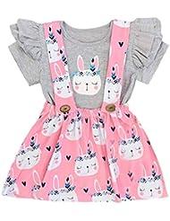 Luckycat Ropa Bebe Niña Verano 2019 Ropa Bebe Recien Nacido Niña Vestido Bebe Ceremonia Vestido Bebe