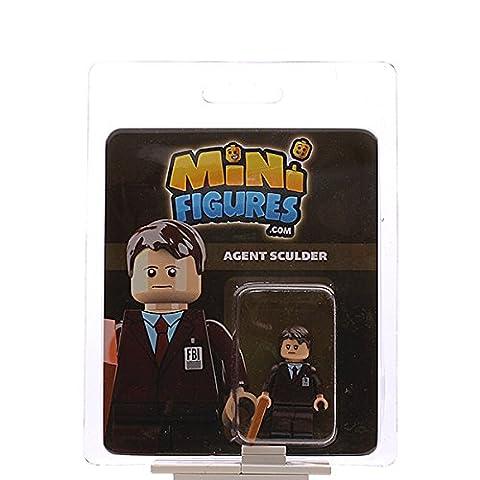 Custom Design Minifigure - X-Files FBI Agent Sculder