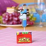 Kicode Feier-Party-Dekoration Karikatur Kerze Kuchen Kuchen-Deckel Universal-Kids Kinder Alles Gute Zum Geburtstag Zahle
