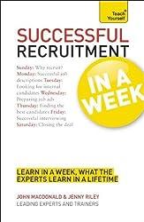 Teach Yourself Successful Recruitment in a Week (TYW) by Nigel Cumberland (2012) Paperback