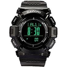 2017New Arrival Sunroad Sport Smart Watch Höhenmesser Barometer Kompass Stoppuhr Herren Armbanduhr Uhr 5ATM wasserdicht fr823b Uhren