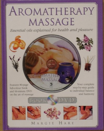 AROMATHERAPY MASSAGE BOOK & DVD