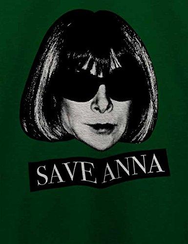 Save Anna Wintour Herren T-Shirt Dunkel Grün