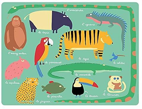 Set de table Animaux de la Jungle - Petit Jour