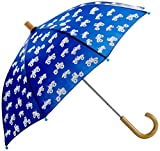 Hatley Jungen Regenschirm Printed Umbrellas, Blau (Colour Changing Monster Trucks), Einheitsgröße