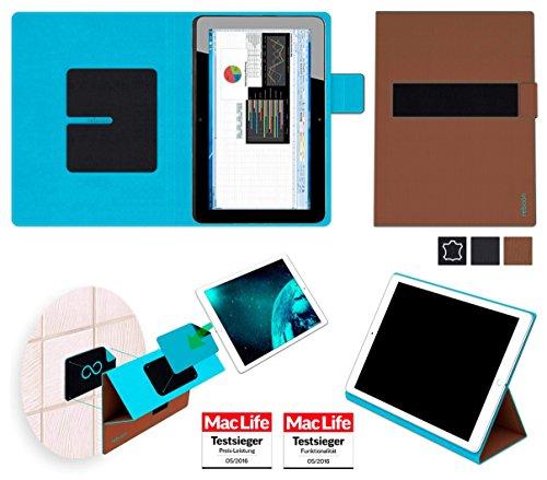 reboon Hewlett Packard Elite x2 1011 G1 Hülle Tasche Cover Case Bumper   Braun   Testsieger