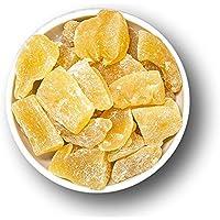 Kandierter Ingwer getrocknet | Ingwer Stücke ungeschwefelt | leicht kandiert | Trockenfrüchte | 1001Frucht – 1kg