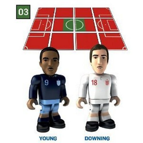 Topps Minis FA Collect & Build - Ashley Young & Stuart Downing