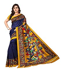 Explore the collection of beautifully designed sarees from Jaanvi fashion on Amazon. Each piece is elegantly crafted and will surely add to your wardrobe. Pair this piece with heels or flats for a graceful look.