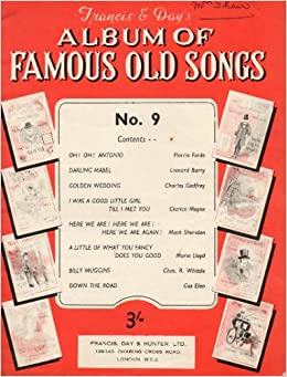 Francis & Day's Album of Famous Old Songs: Amazon co uk