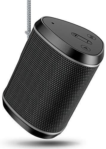 Bluetooth Lautsprecher Mini, Cocoda Bluetooth 5.0 Musikbox TWS mit Tiefen Bass & Stereo Sound, 12 Stunden Spielzeit, IPX6 Wasserdicht Outdoor Kabelloser Lautsprecher für iPhone iPad Huawei Samsung