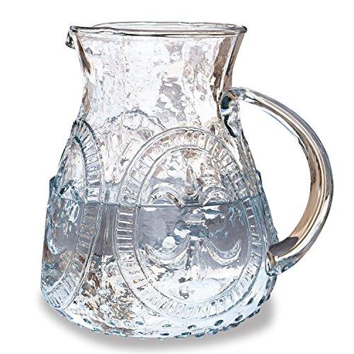 Loberon Krug Pépin, Glas, H/B/T ca. 20/19 / 16 cm, klar