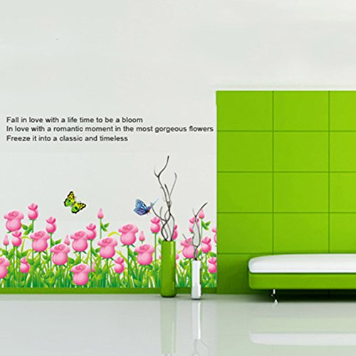 himanjie-papillon-tulip-wall-stickers-plinthe-wall-stickers-sticker