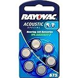 Rayovac Extra Advanced Pila per apparecchio acustico modello PR44 Blister da 6