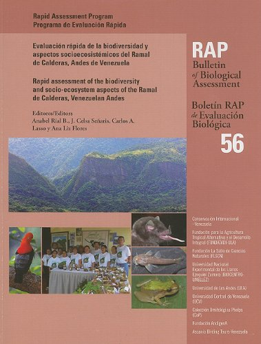 Portada del libro A Rapid Assessment: of the Biodiversity and Socio-ecosystem Aspects of the Ramal De Calderas, Venezuelan Andes (RAP Bulletin of Biological Assessment)