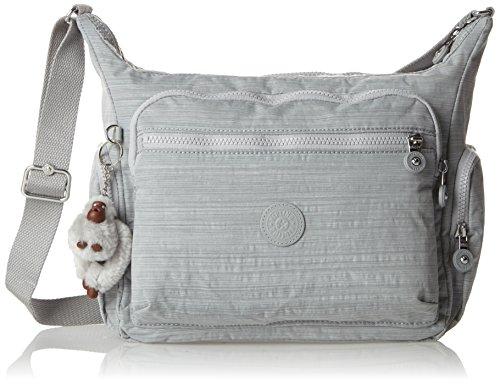 Kipling - Gabbie, Bolsos bandolera Mujer, Grau (Dazz Grey), One Size