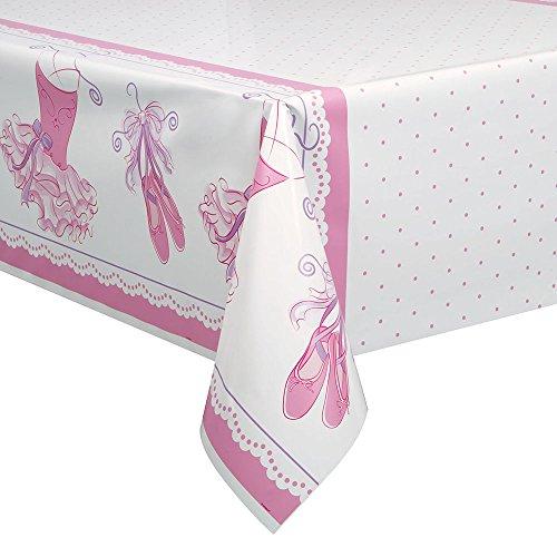 Kunststoff Pink Ballerina Tischdecke, 7ft x (Ballerina Supplies Party)