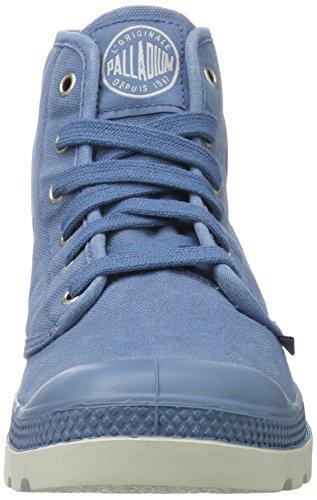 Palladium  Pampa Hi, Hohe Sneakers  homme Bleu (Coronet/silver Birch)