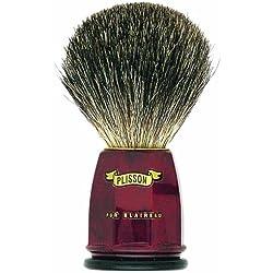 Plissons 5533 - Brocha de afeitar (pelo de tejn gris, tamao 12, montura de nogal)