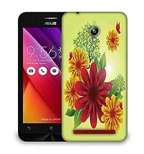 Snoogg spring flowers Designer Protective Back Case Cover For Asus Zenfone GO