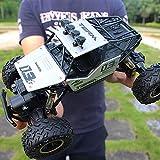 Mogicry Alliage tout-terrain à quatre roues motrices surdimensionné charge alliage multifonction électrique télécommande voiture à grande vitesse Bigfoot escalade enfant jouet voiture de course cadeau