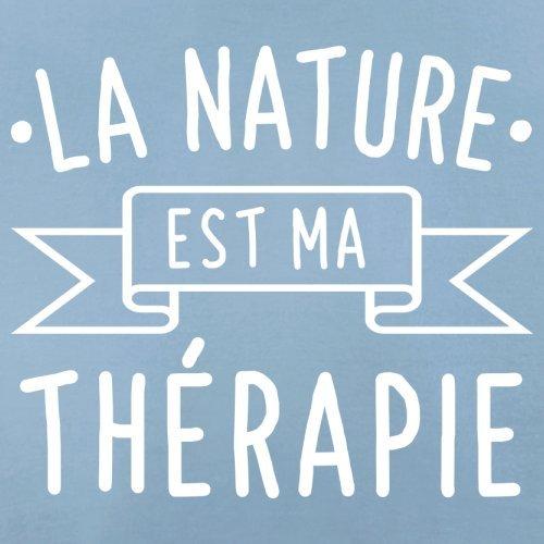 La nature est ma thérapie - Femme T-Shirt - 14 couleur Bleu Ciel