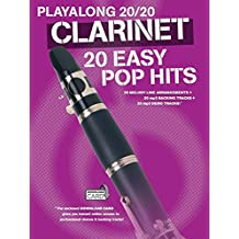 Playalong 20/20 Clarinet: 20 Easy Pop Hits (Buch/Download Card) (Playlong 2020)