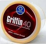 1 Bobina x 300 m Griffin 40 TKT Cotone per togliere sopracciglia