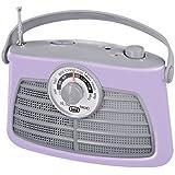 Trevi RA 763 V Portable Analogique Crème, Gris Radio portable - Radios portables (Portable, Analogique, AM, FM, 3,5 mm, C, UM2)