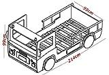 Demeyere 3224 Feuerwehrbett SOS 112, MDF, 90 x 190-200 cm, rot / weiß für Demeyere 3224 Feuerwehrbett SOS 112, MDF, 90 x 190-200 cm, rot / weiß