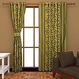 Handy Texty Floral Door Curtain - 7 X 4 ...