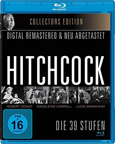 DIE 39 STUFEN - Alfred Hitchcock Klassiker in neuer HD-Fassung [Blu-ray]