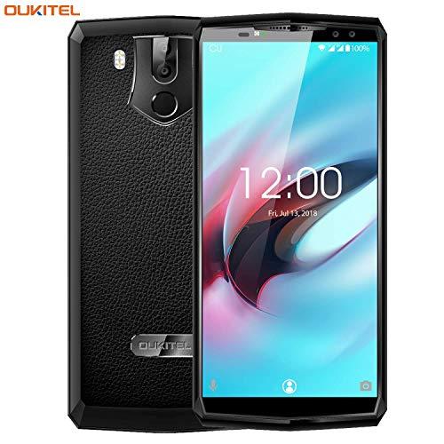 OUKITEL K10 - Smartphone Libres DE 6.0' 18: 9 (4G Dual SIM 11000mAh Batería Carga rápida Octa-Core 6+64GB 21 + 13MP...