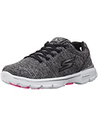 Skechers Damen Go Walk 3 Stretch Sneakers