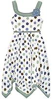 Girls Polkadot Summer Dress New Kids Cotton Sleeveless Dresses