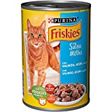 Purina Adult Friskies with Salmon and Tuna in Sauce - Can 400 g