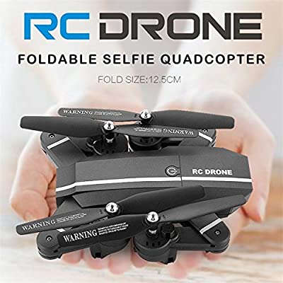Beautyrain S25 Foldable RC Mini Drone With Camera Live Video for Beginners, Headless Mode, One Key Return, 3D Flips, Easy to Control