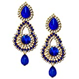 Beingwomen Stone Studded Fashion Alloy D...