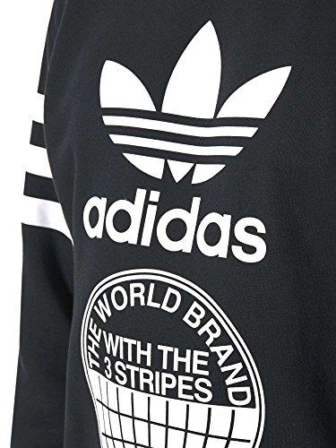 adidas Herren Street Graph Cr Sweatshirt Schwarz (NEGRO)