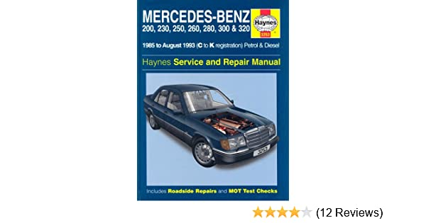 mercedes benz 200 230 250 260 280 300 320 124 series 1985 rh amazon co uk New Air AW- 280E 280E Tax Code