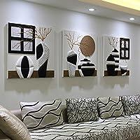 Pitture Murali Moderne Per Interni.Amazon It Quadri Moderni Rilievo Decorazioni Per Interni Casa E