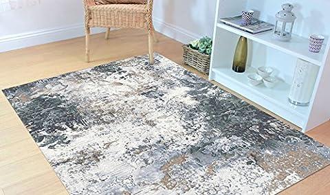 Tapis moderne motif abstrait multicolore Laguna 63395–7656Tapis salon cm.133x195 LAGUNA 63395-7656