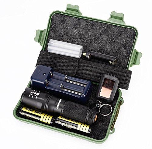 Tongshi G700 X 800 batería de linterna táctica de grado militar LED...