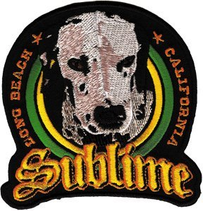 Sublime Music Band Patch - Lou Dog Name Logo by C&D