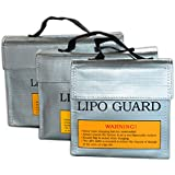 Switchali explosion de la batterie de sac preuve Li-Po Batterie Fireproof sécurité sac sûr 240*64*180MM