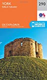 OS Explorer Map (290) York (OS Explorer Active Map)