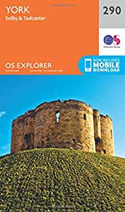 OS Explorer Map (290) York (OS Explorer Paper Map) (OS Explorer Active Map)