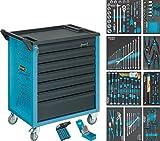 Hazet Werkstattwagen Assistent mit Sortiment, Anzahl Werkzeuge: 217, 915 x 779,5 x 496 mm, 1 Stück, 177-7/217